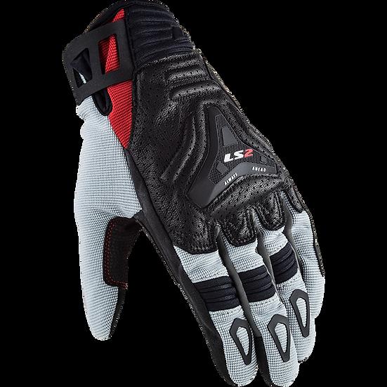 ALL TERRAIN - GREY RED - Men's Touring Gloves