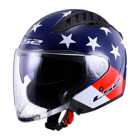 AMERICAN - GLOSS RED/WHITE/BLUE - Copter