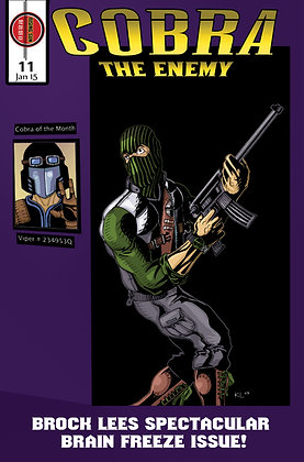 Cobra:The Enemy Issue #11