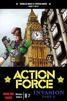 Action Force:WWIII Int-Issue #7-A Millerverse #36