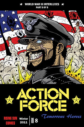 Action Force:WWIII Int-Issue #8-B Millerverse #35