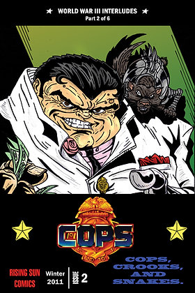 Cops: WWIII Int-Issue #2-B Millerverse #28
