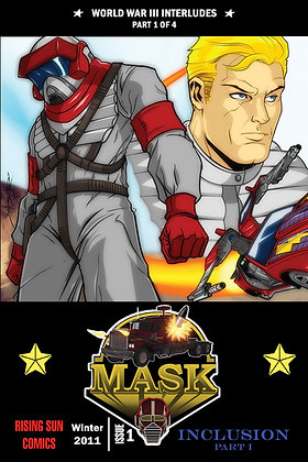 Mask: WWIII Int-Issue #1-A Millerverse #16