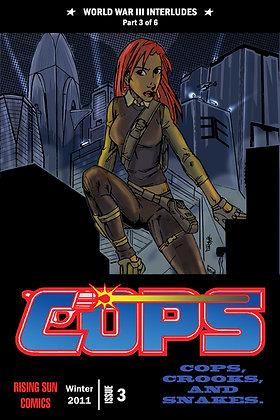 Cops: WWIII Int-Issue #3-B Millerverse #29