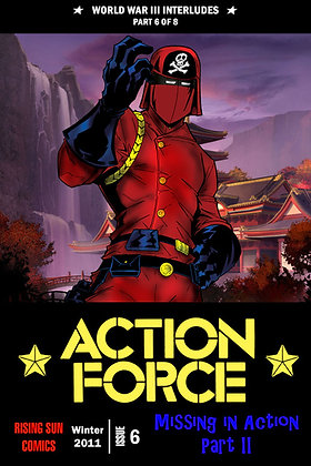 Action Force:WWIII Int-Issue #6-B Millerverse #33