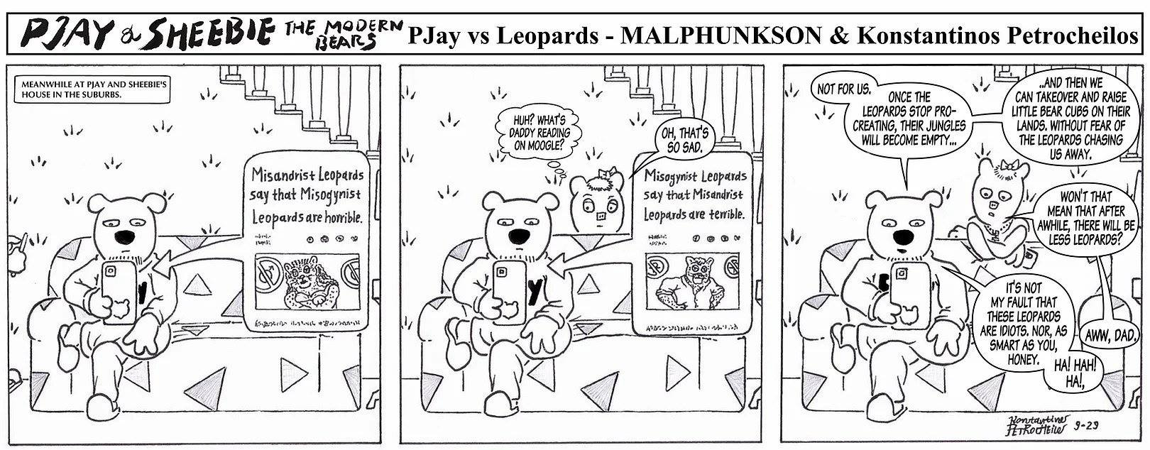 Pjay vs. Leopards
