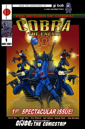 Cobra:The Enemy Issue #1