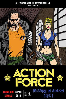 Action Force:WWIII Int-Issue #1-A Millerverse #17
