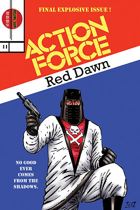 Action Force:Red Dawn-Issue #11-B Millerverse #14