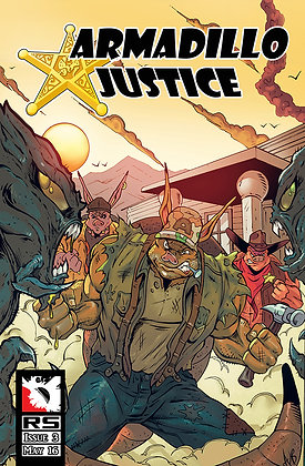 Armadillo Justice Issue 3