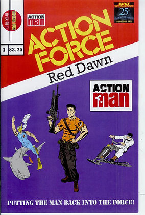 Action Force:Red Dawn-Issue #3-A Millerverse #6