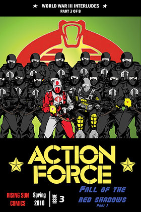 Action Force:WWIII Int-Issue #3-A Millerverse #24