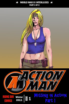 Action Man:WWIII Int-Issue #1-A Millerverse #18