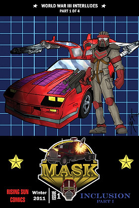 Mask: WWIII Int-Issue #1-B Millerverse #16