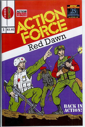 Action Force:Red Dawn-Issue #1-A Millerverse #4