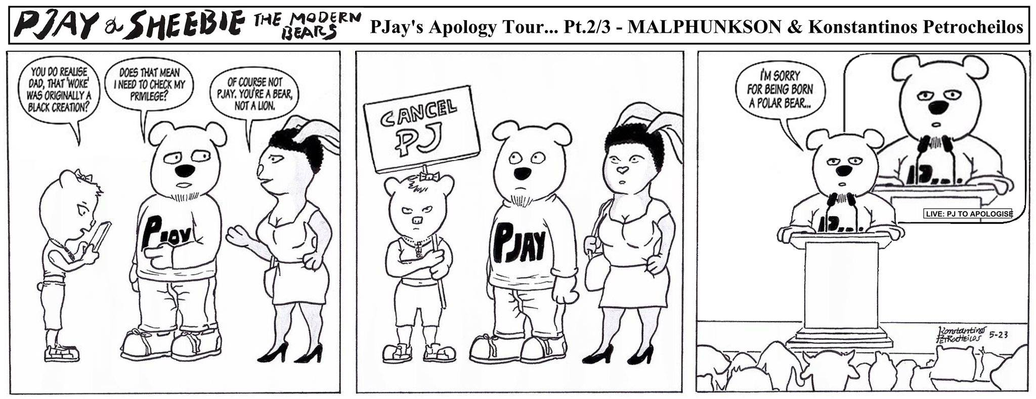 Pjay's Apology Tour
