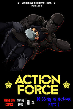 Action Force:WWIII Int-Issue #1-B Millerverse #17