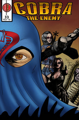Cobra:The Enemy Issue #33