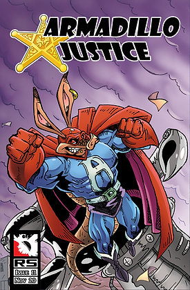 (Pre-order) Armadillo Justice Issue 11