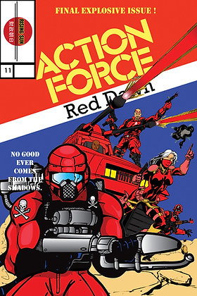 Action Force:Red Dawn-Issue #11-A Millerverse #14