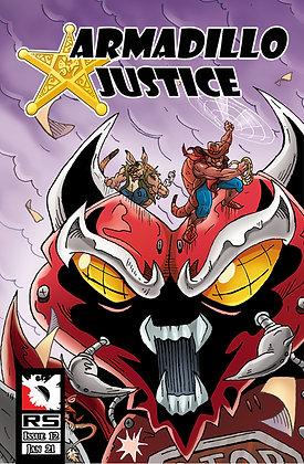 (Pre-order) Armadillo Justice Issue 12