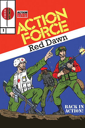 Action Force:Red Dawn-Issue #1-B Millerverse #4