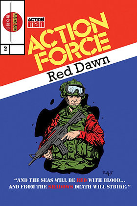 Action Force:Red Dawn-Issue #2-B Millerverse #5