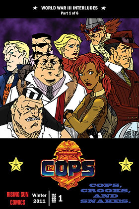 Cops: WWIII Int-Issue #1-B Millerverse #15
