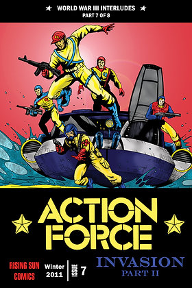 Action Force:WWIII Int-Issue #7-B Millerverse #36