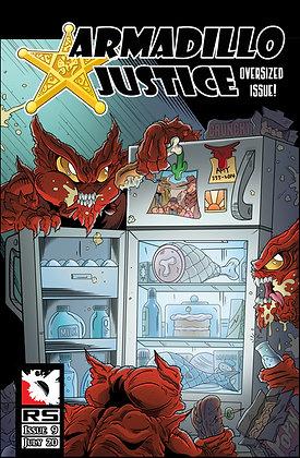 (Pre-order) Armadillo Justice Issue 9