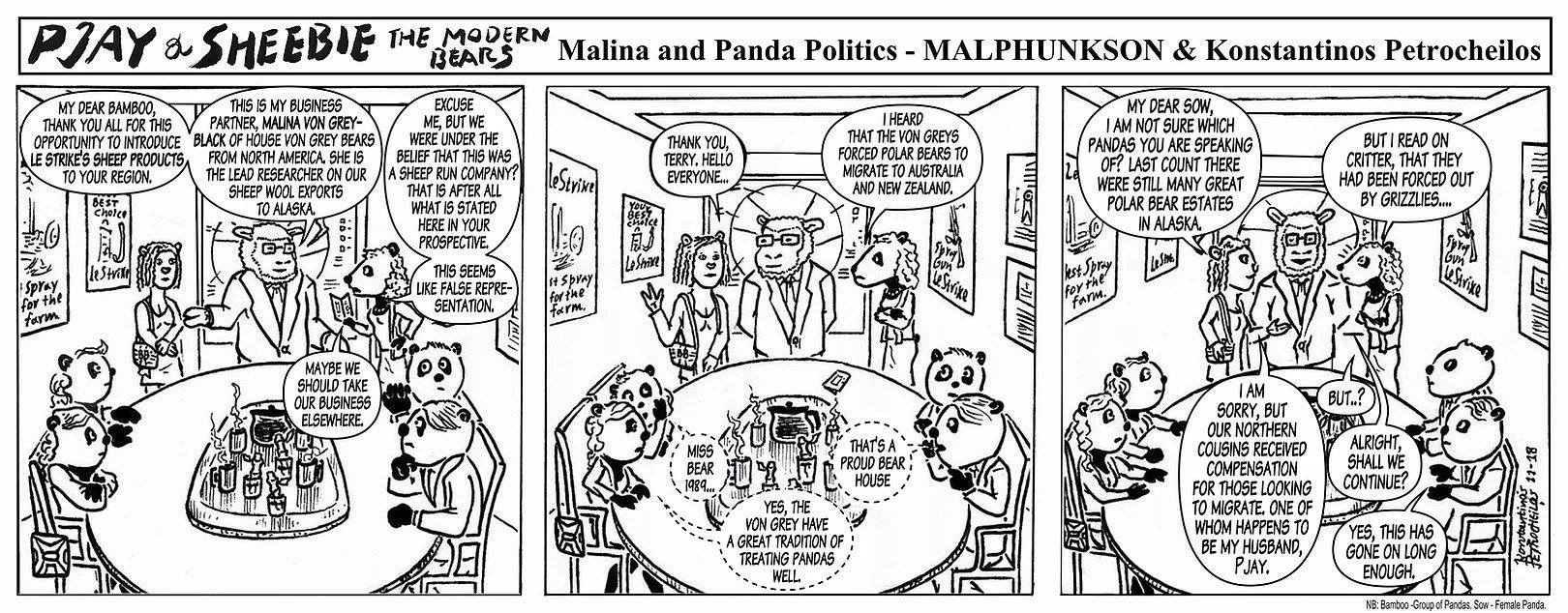 Malina and Panda Politics