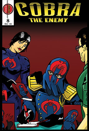 Cobra:The Enemy Issue #8