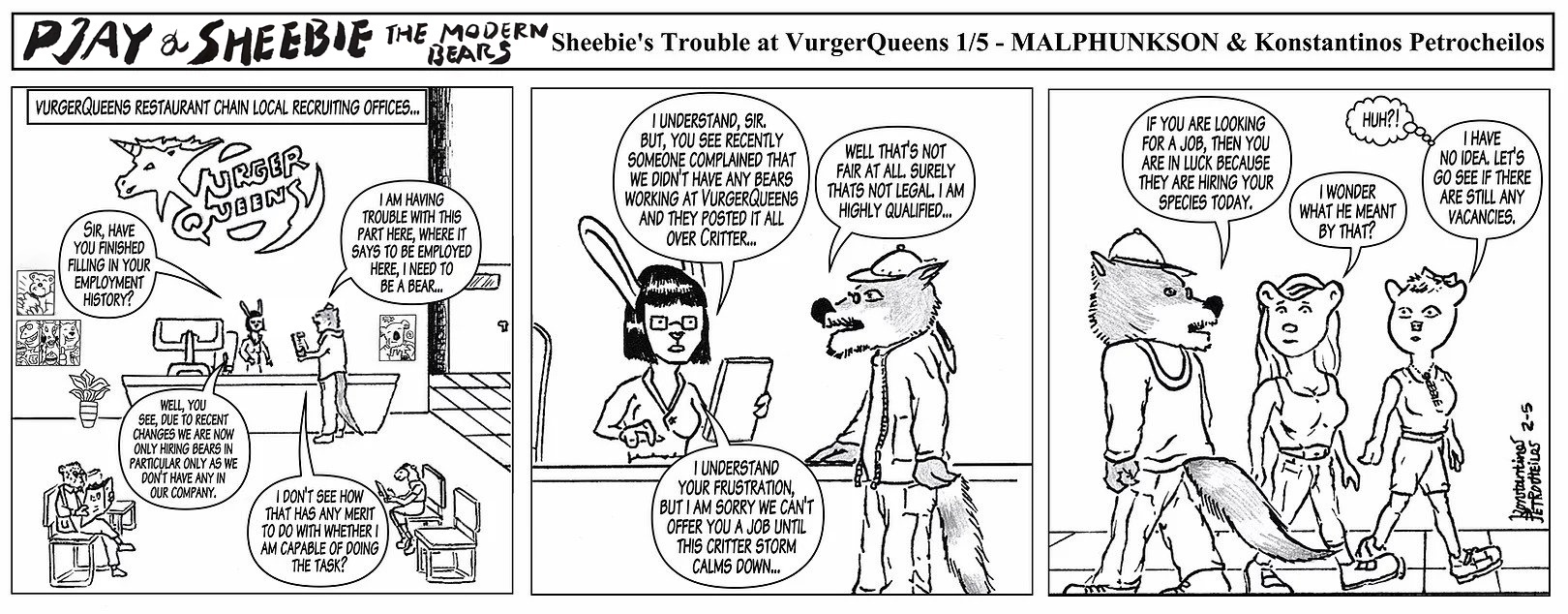 Sheebie's Trouble at VurgerQueens 1/5