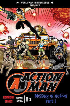 Action Man:WWIII Int-Issue #1-B Millerverse #18