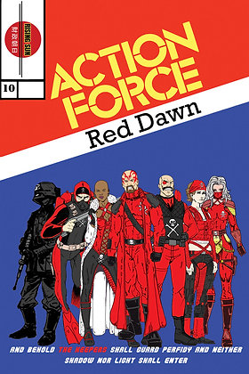 Action Force:Red Dawn-Issue #10-A Millerverse #13
