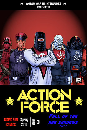 Action Force:WWIII Int-Issue #3-B Millerverse #24