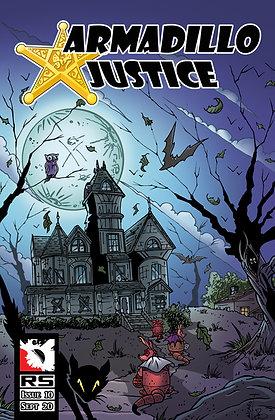 (Pre-order) Armadillo Justice Issue 10