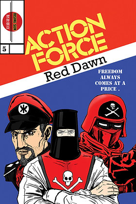 Action Force:Red Dawn-Issue #5-B Millerverse #8