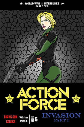 Action Force:WWIII Int-Issue #5-A Millerverse #27
