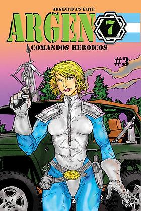 Argen7 Issue #3-B Millerverse #3