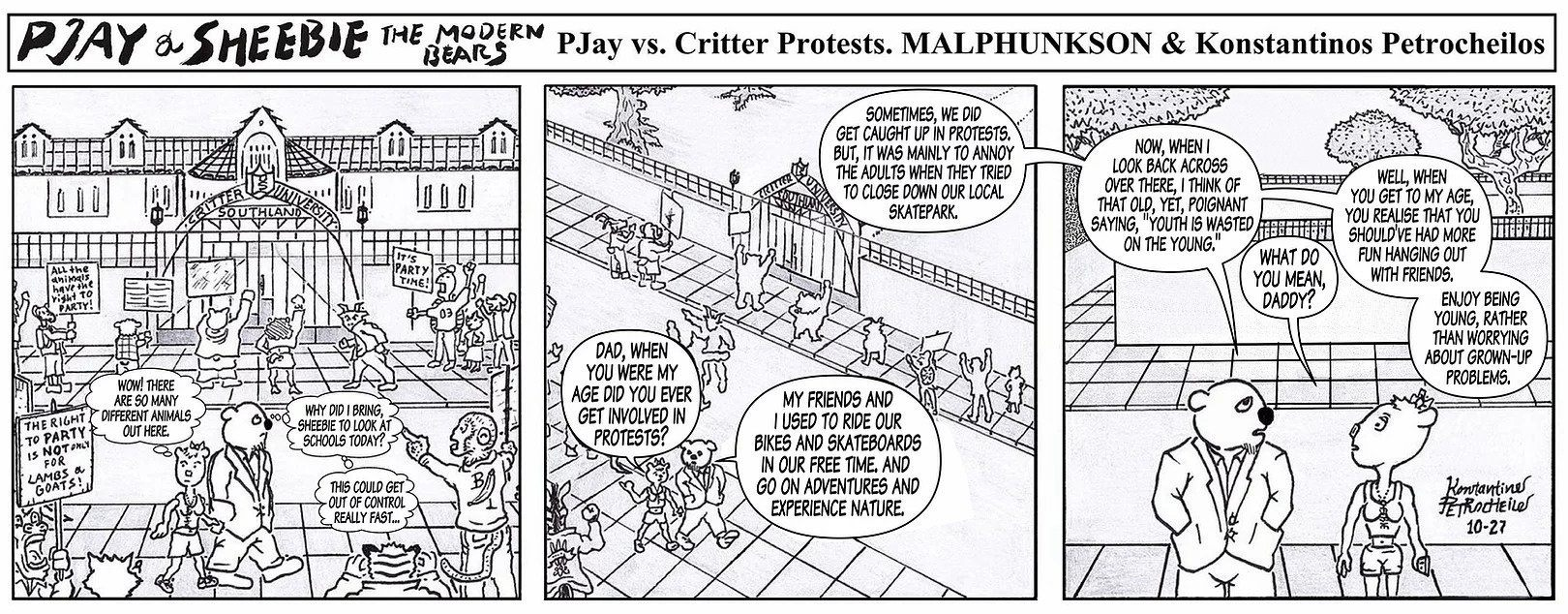 Pjay vs. Critter Protests