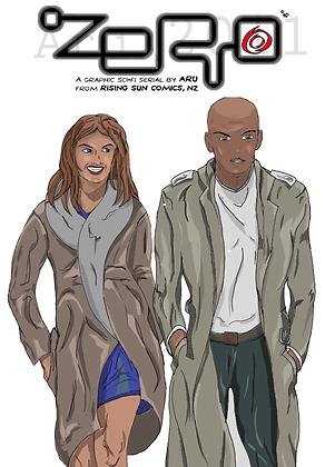 Zero issue #1 cover B