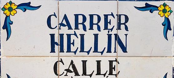 Calle Hellin Santa Pola