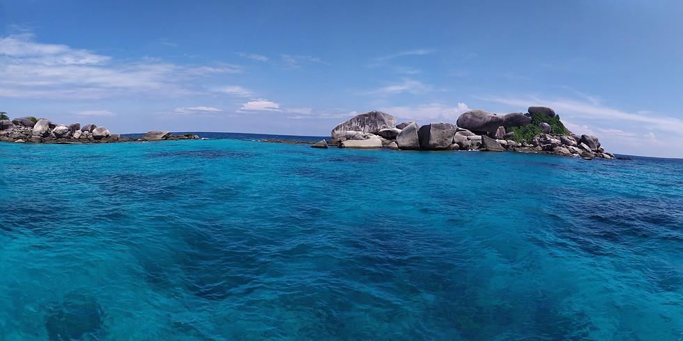 Potápění u Similanských ostrovů