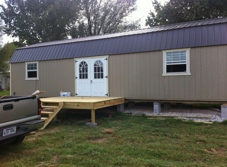Tiny House living is the life for us!
