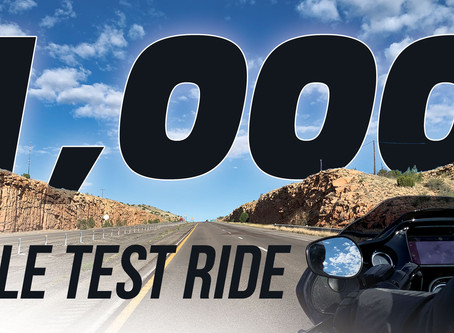 1,000 Mile Test Ride
