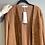 Thumbnail: SALE - Braune Jacke, vorn Wildleder-Imitat, hinten Jersey