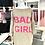 "Thumbnail: Long-Pullover ""Bad Girl"" - Taupe"