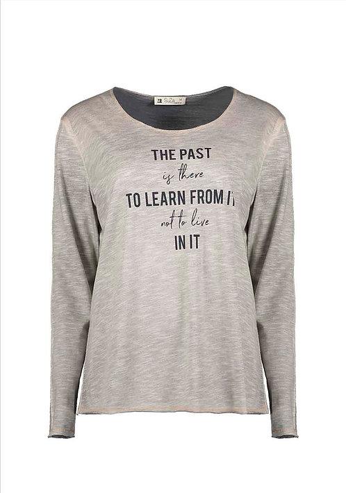 "SuZa - Shirt ""The Past..."""