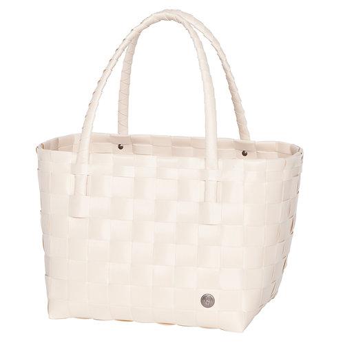 Einkaufskorb Ecru-Weiß